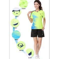 New Women Girls Shirts Sportswear Suit For Badminton /Tennis /Ping Pong /  Running Sport