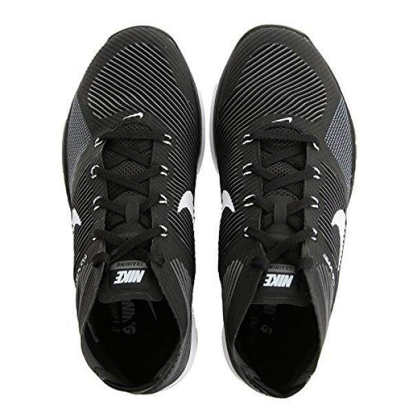 Nike Bebas Train Instinct SZ 7.5 Pria Silang Hitam Baru Di Kotak-Internasional