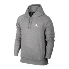 buy popular 36586 af0e8 NIKE JORDAN FLIGHT LITE FT PULLOVER HOODY GREY