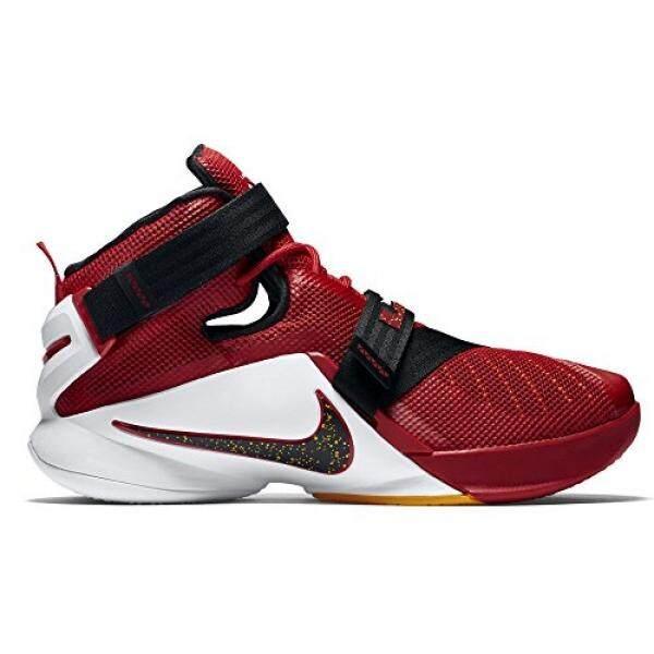 Nike LEBRON SOLDIER IX SZ ENS Laki-laki Merah Baru Di Kotak B015U15TLI-Internasional