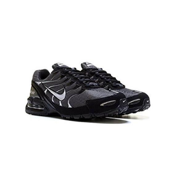 NIKE Mens Air Max Torch 4 Running Shoe Anthracite/Metallic Silver/Black M US