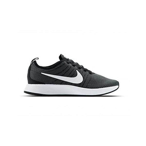 best sneakers f1246 d1184 NIKE Mens Dualtone Racer Black White Dark Grey Casual Shoe 9.5 Men US - intl