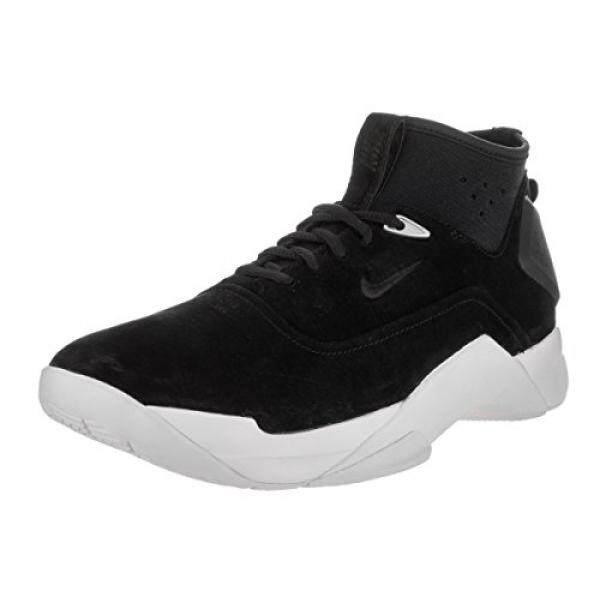 Nike Pria Hyperdunk Rendah Lux Hitam/Hitam/Putih Sepatu Basket En Kami-Internasional