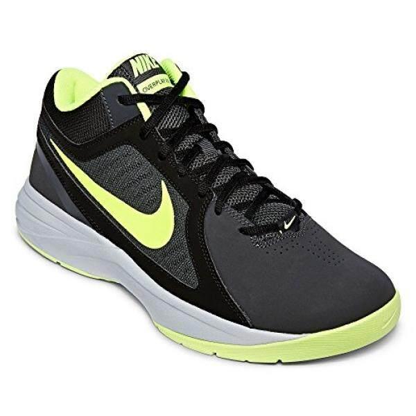 Nike Mens The Overplay VIII NBK Anthracite/Volt/Black/Cl Gry Basketball Shoe en US - intl