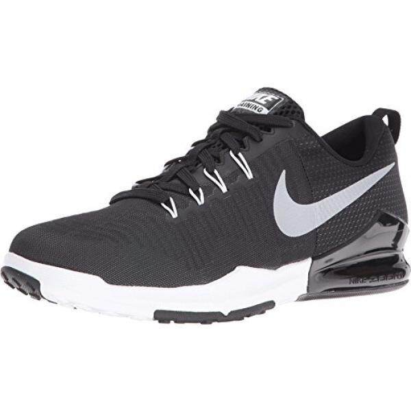 0f7d3f021da5 Nike Mens Zoom Train Action Black Metallic Silver Training Shoe 12 Men US -