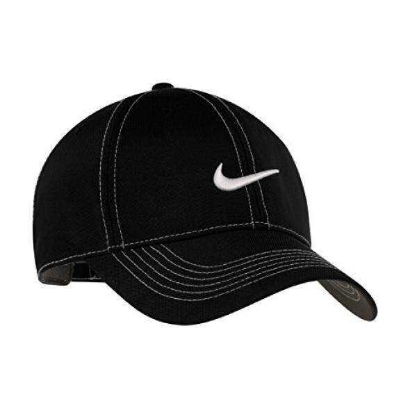 Nike Original Contrast Stitching Water Resist Swoosh Embroidered Baseball  Cap - Black - intl Philippines fe3ffa90162
