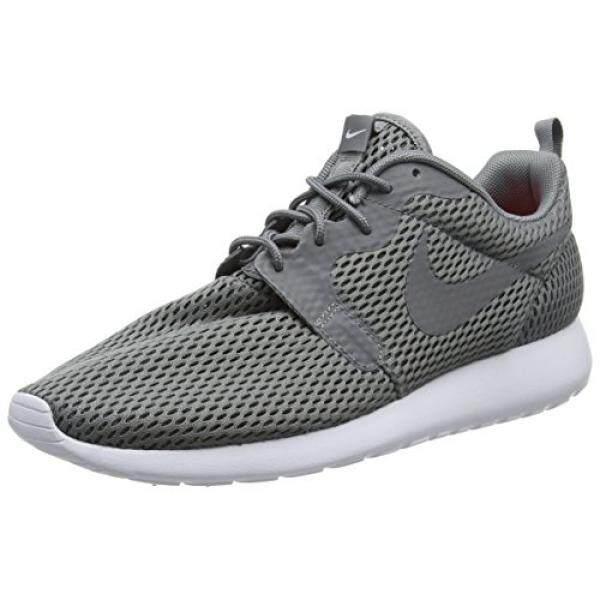 Nike ROSHE SATU Hyperfuse Bernapas Sepatu Keren Abu-abu/Putih, 10.5 D (M) US-Intl