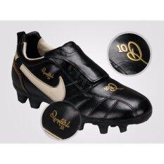 separation shoes 8cc87 9dcf7 100% Authentic - Nike Tiempo Ronaldinho FG - Black UK 6