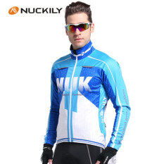Nuckily Autumn And Winter Thermal Cycling Clothing Mountain Bike Breathable Windproof Long-Sleeved Fleece Jacket By Yellow People International Trade.