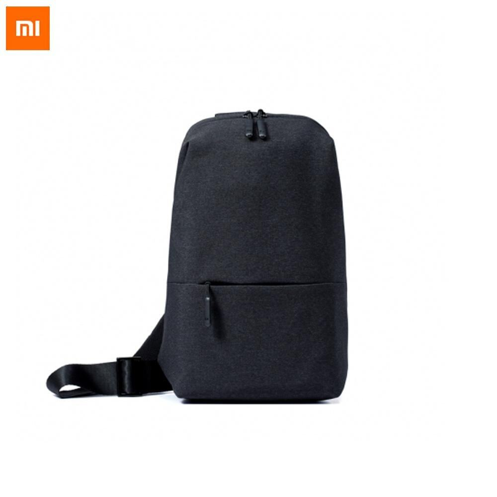 873c53af1ed4 Original Xiaomi Backpack urban leisure chest pack For Men Women Small Size  Shoulder Type Unisex Rucksack for camera DVD phones - Black