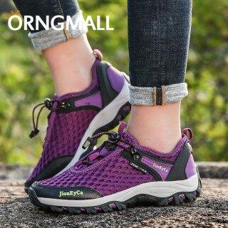 ORNGMALL Giày đi bộ đường dài cho phụ nữ Đi bộ ngoài trời Thể thao thông thường Giày lưới thoáng khí Đi bộ leo núi Cắm trại Du lịch Thiết kế thoáng khí độc đáo Thoải mái Bền thumbnail
