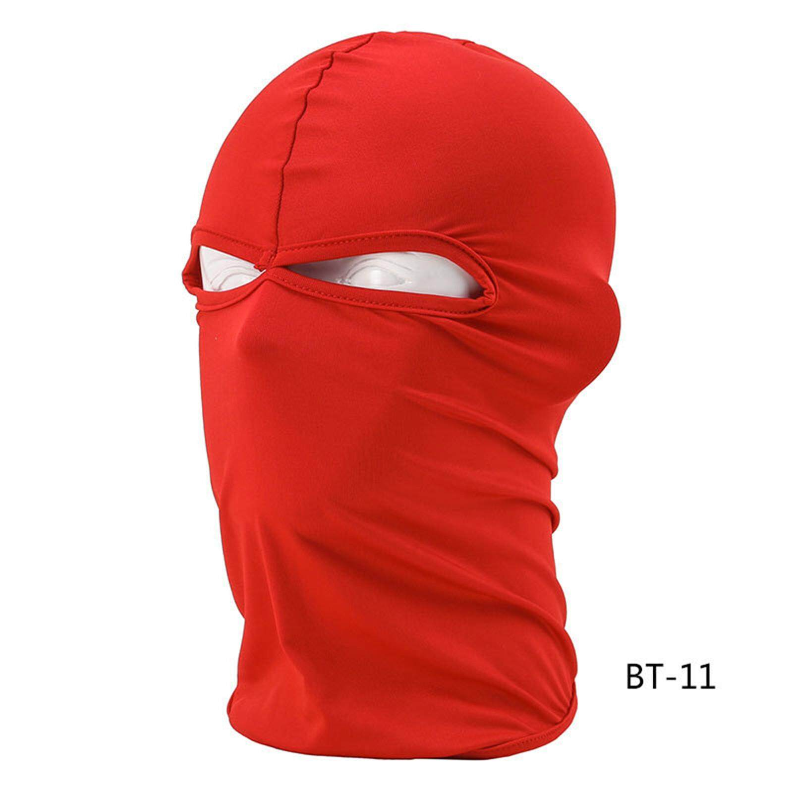 Outdoor Lycra Balaclava Ski Face Mask Cycling Neck Protecting Ultra-thin Unisex-intl