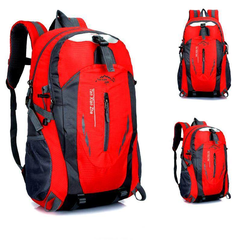 f2398c5ba4 Outdoor Sports 40L Waterproof Backpack for Hiking Camping Traveling  Mountaineering Red