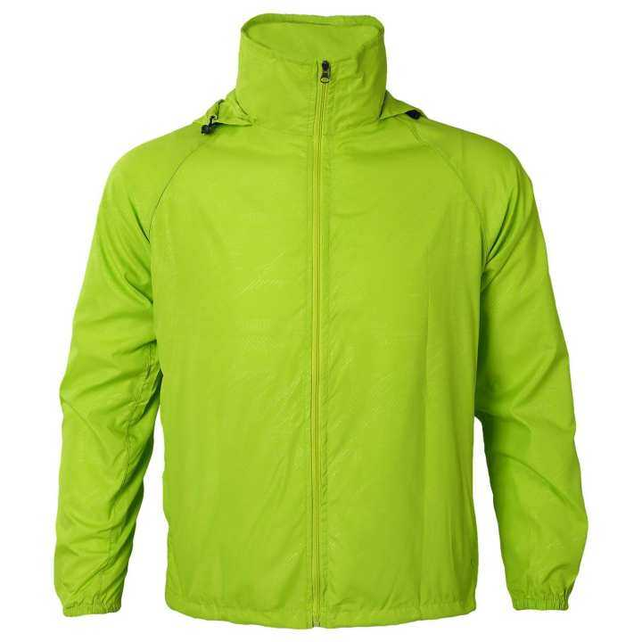 Outdoor Unisex Cycling Running Waterproof Windproof Jacket Rain Coat -Fruit Green
