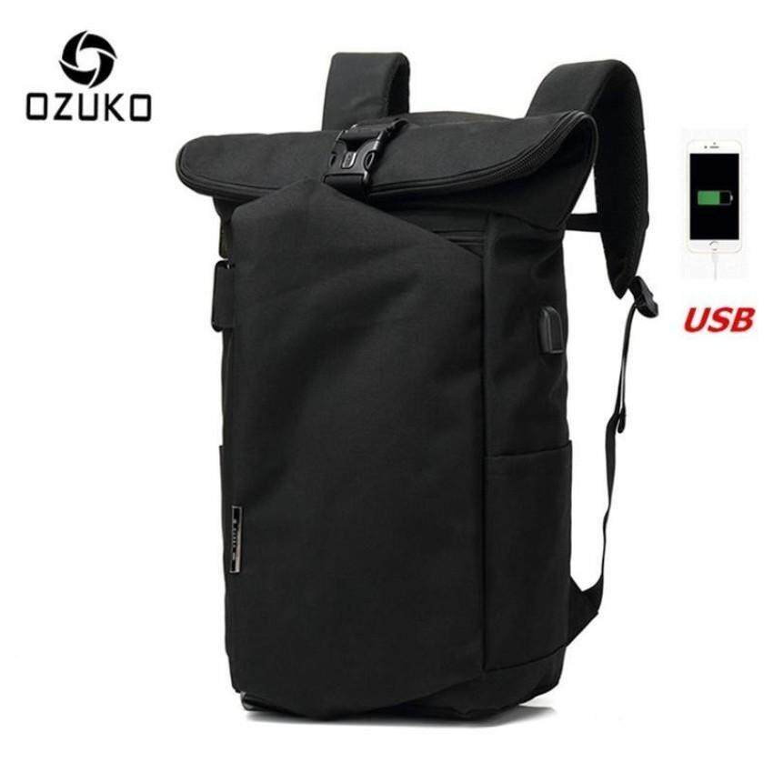 Buy Ozuko 2017 New Korean Style Men S Backpacks Fashion Laptop Computer Bags Sch**l Bags Casual Travel Bag Black Nbsp Intl Ozuko Original