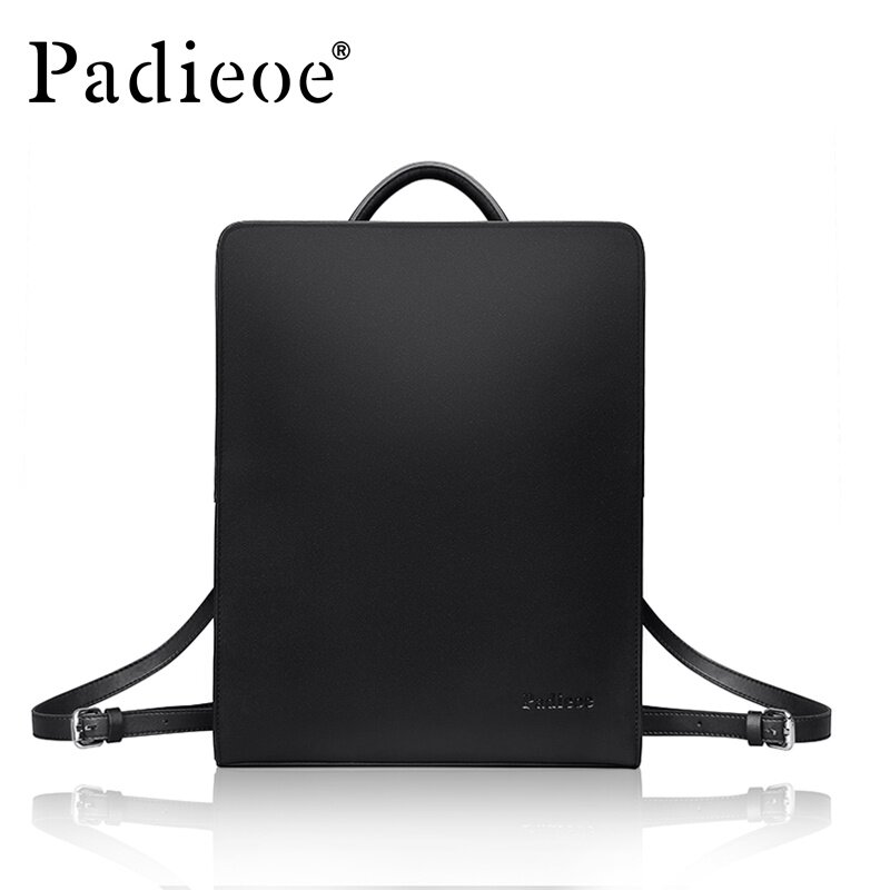 Buy Padieoe Fashion High Quality Men S Bag Men Square Backpacks Business Laptop Bag Casual Simple Travel Bag For Men Black 14 1Inch Intl Padieoe Online