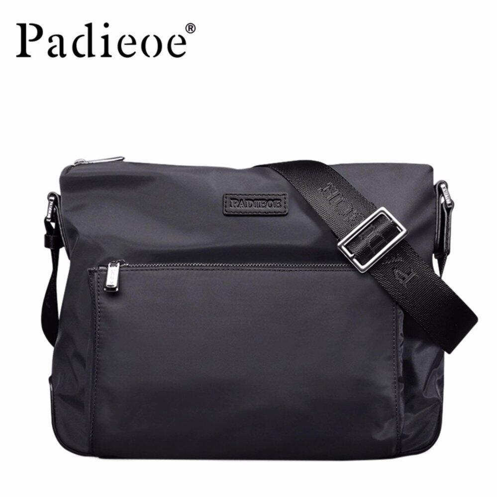 b108bbe206b9 Padieoe New Desigh Fashion Men Bag High Quality Nylon Waterproof Bag Male  Shoulder Bags Men Trave