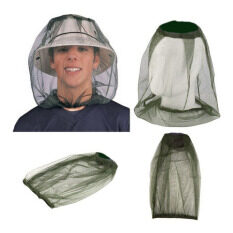 Palight Anti-Mosquito Cap Hedging Insect Mesh Head Net Face Protector Hat For Outdoor Camping - Intl By Palight.