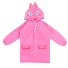 Palight Kids Cartoon Waterproof Rain Coat (pink) By Palight.