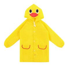 Palight Kids Cartoon Waterproof Rain Coat (yellow) By Palight.