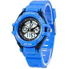 Paul Frank Kids Blue Rubber Strap Watch PFSQ1375-01A Malaysia