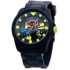 Paul Frank Mens Black Rubber Strap Watch PFFR1118-01A Malaysia