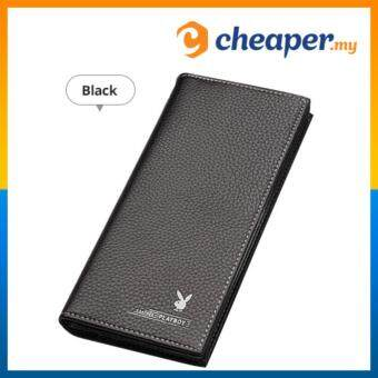 PLAYBOY Men Long Wallet Leather with 11 card slots