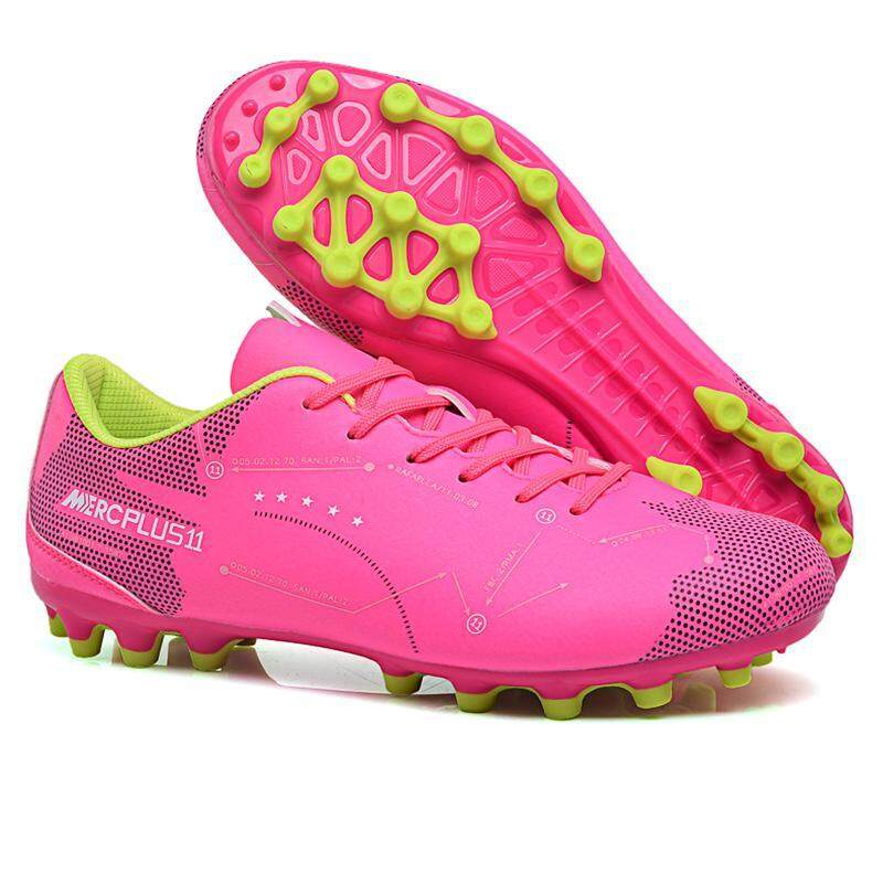 9687e2d54 Women Soccer Football Shoes High-quality Plus Size Athletic Match Sports  Sneakers Indoor Sports Futsal