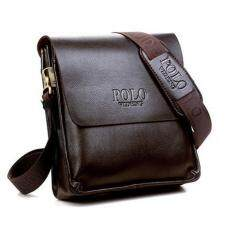 Polo Classic Men Bag Pu Leather Messenger Shoulder Man Office Casual Fashion Ootd