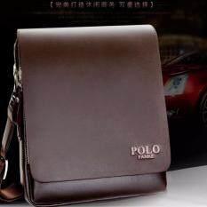 Polo Fanke Men Genuine Leather PU Shoulder Bag Messenger Bags Handbag  Composite Leather Bag Vertical BIG 25e68aecf3a24