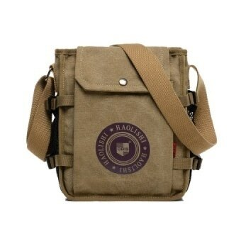 a4dbb34b3fb2 Popular Vintage Men Business Small Bag Casual Canvas Sport Women Men  Messenger Bag Printing Travel Sling