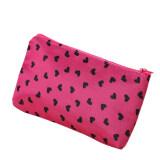 Portable Women Cosmetic Toiletry Bag Makeup Travel Wash Case Pouch Pen Purse rose - intl
