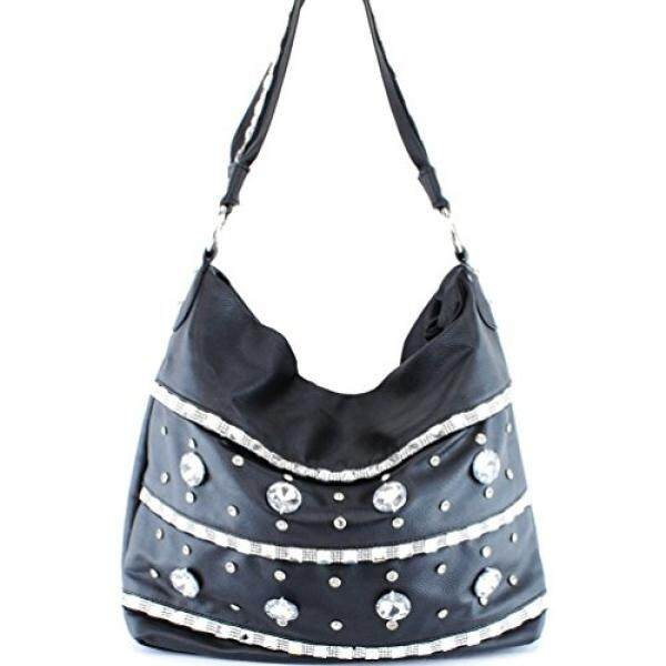 Garsel Tas Branded Premium Wanita Synth FRP5030 - Top Handle Fashion Women's Bag - Hitam.