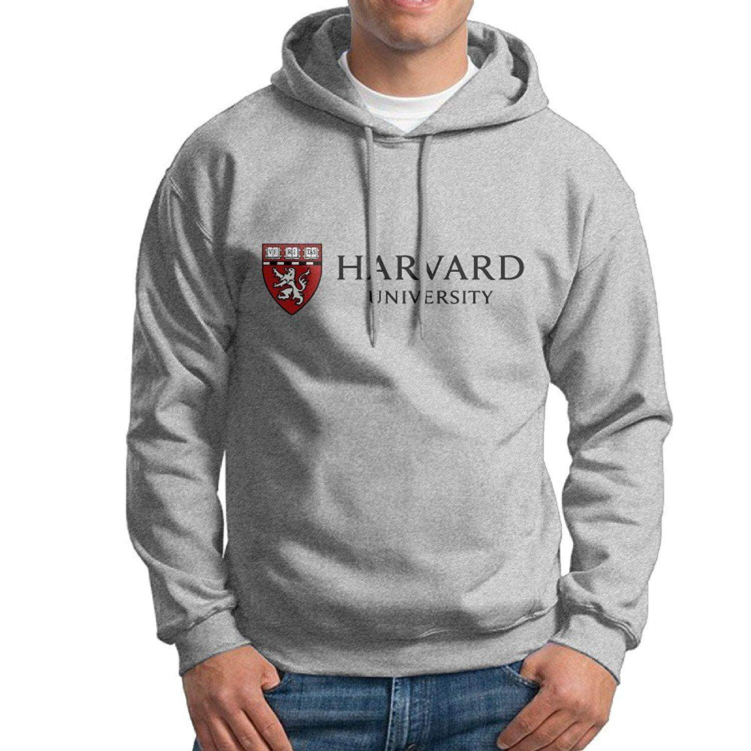 Buy Ptr Men S Hoodie Harvard University Logo Ash Intl Oem Original