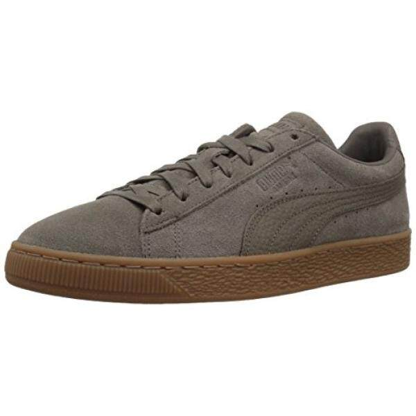 9b599e32d95 PUMA Mens Suede Classic Natural Warmth Sneaker