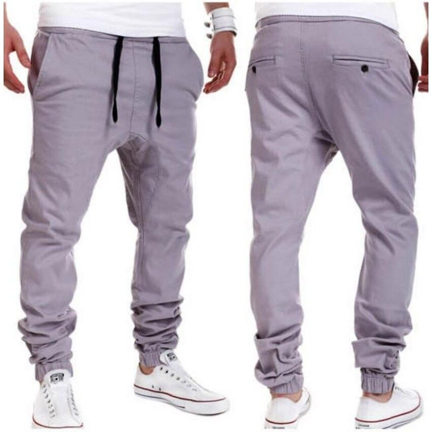 be4c0f6a59e 2018 Plus Size Men New Casual Pants Sporting Joggers Trousers Fitness Gym  Clothing Pockets Leisure Sweatpants