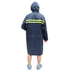 Raincoat With Pvc Rain Coat Waterproof Material C/w 2 Reflective Strip By Spiro Spot.