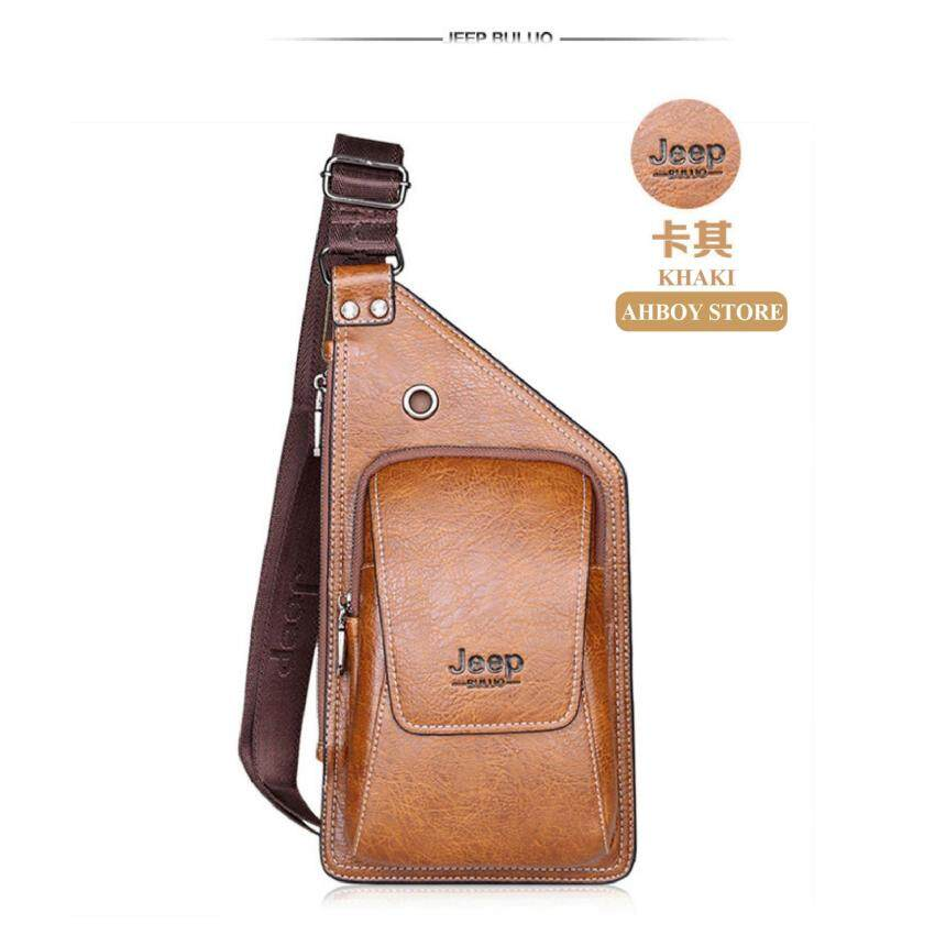 1515015c03 Airsky RAYA PROMO New JEEP Premium Leather Sling HALF Crossbody Bag  Shoulder Bag [NEW]