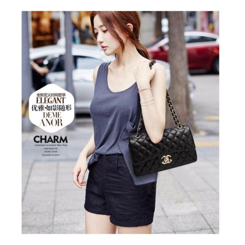 Who Sells Ready Stock Cross Body Black Chain Sfx Bag Shoulder Bag Intl