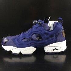 d898680d0 Reebok Insta PUMP FURY Running Shoes Air Inflation Running Shoes Women s  Cashion Shoes(blue)