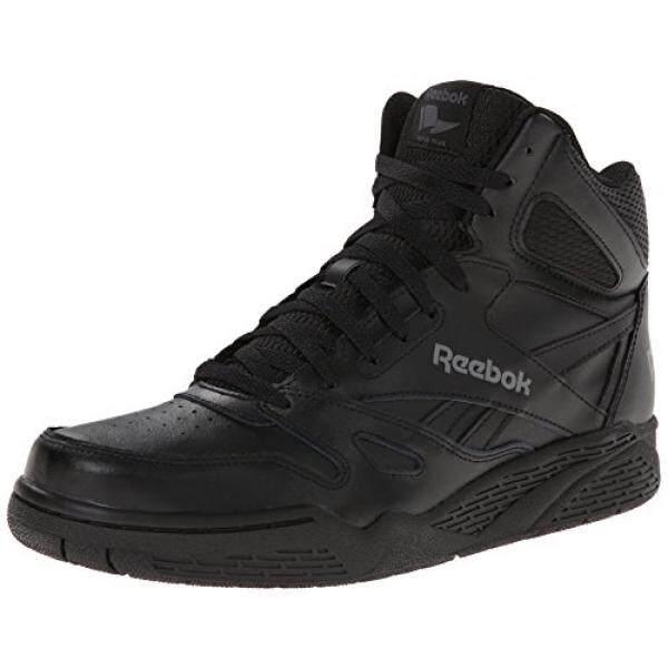 Reebok Pria Royal Bb4500h XW Sepatu Sneaker Modis, Hitam/Shark 9 4E Kami-Internasional