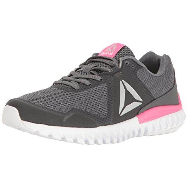33dae814a86 Harga reebok womens twistform blaze tm running shoe alloy ash grey poison  pink white silver met