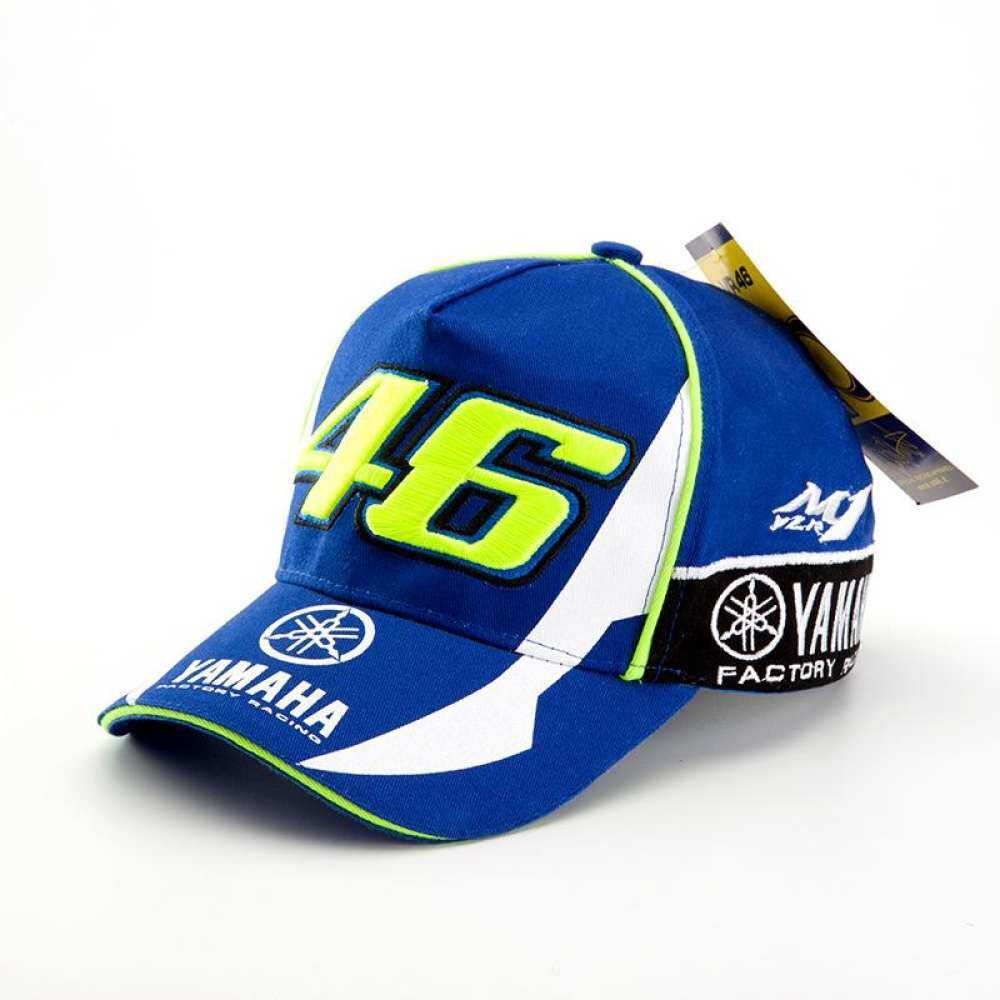 Rossi VR46 Baseball Cap MOTO GP 3D Motorcycle 46 Embroidered Racing HatMYR75. MYR 75