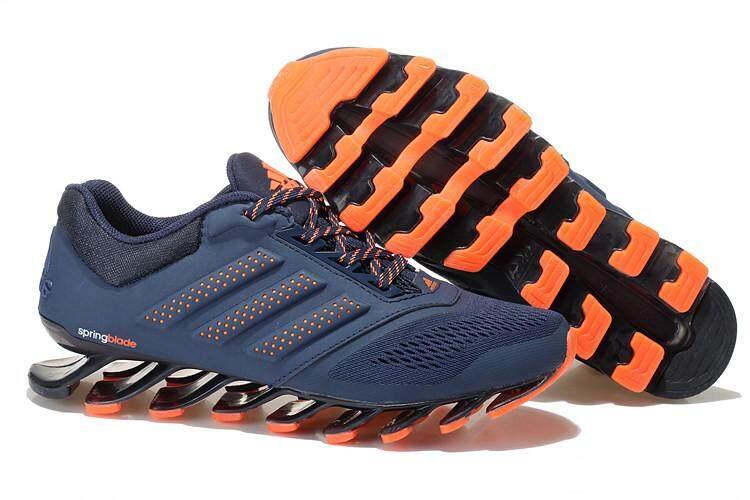 Sepatu Lari Fashion SPRINGBLADE Drive 2.0 Pria Sepatu Kets Kasual  Terlindungi dengan Baik (Biru Dongker 61094ba686