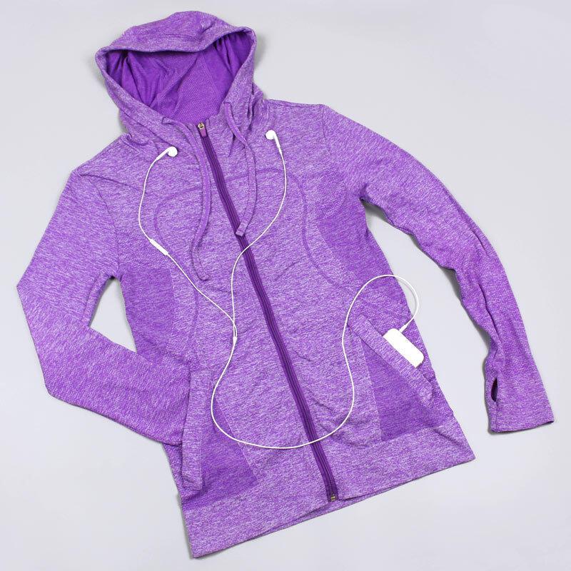 Running Sport Fitness Mantel Liburan Sweater Wanita Cepat Kering Hoodie Ritsleting Jaket Pakaian Yoga dengan Lengan Panjang-Intl