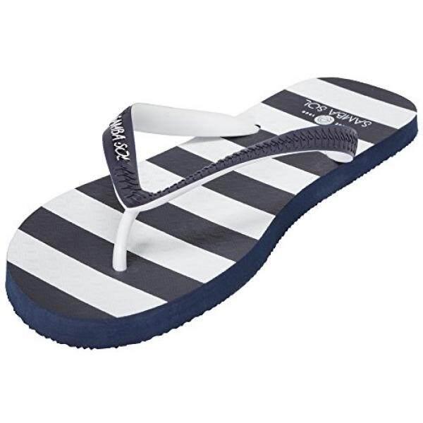 Samba Sol Fashion Koleksi Sandal Jepit-Modis dan Nyaman. Trendi dan Sandal Klasik Di Wanita, Pria, dan Anak-anak. bleu Marine, 10-11 D Kami-Internasional