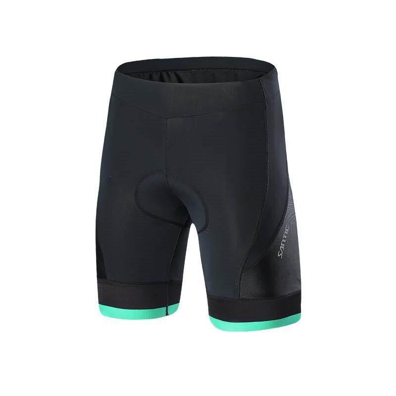 Santic Celana Pendek Bersepeda Pria PRO 4D Empuk Sepeda MTB Celana 1/2 Naik 2