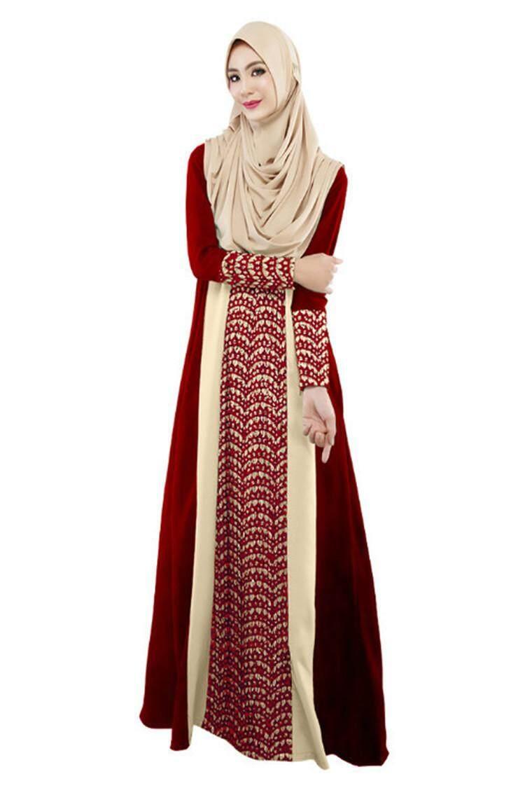 ... Jubah Abaya Baju Muslim Turki Robe Caftan Tradisional Wanita Muslim Panjang Besar Gaun Arab Garment XL Ukuran-InternasionalIDR218888. Rp 220.000