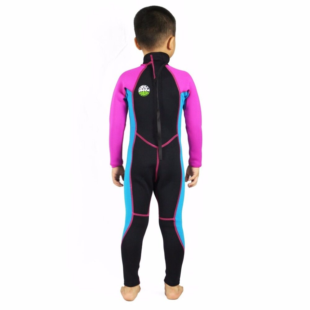 SLINX 2mm Neoprene Kids Diving Wetsuit Long Sleeve Snorkeling Clothes For  Boys Girls Winter Swimming Bathing 54878be76