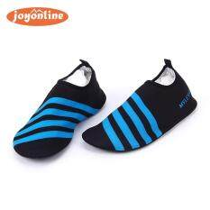 Slip On Men Women Surf Aqua Beach Water Socks Shoes Sport Yoga Swim(blue Int: One Size) By Joyonline.